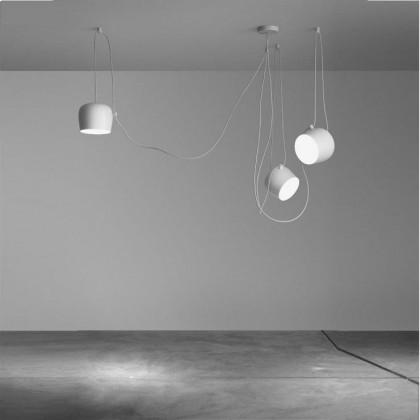 Aim Ø24 biały - Flos - lampa wisząca - 3 x F0090009 + F0093009 - tanio - promocja - sklep