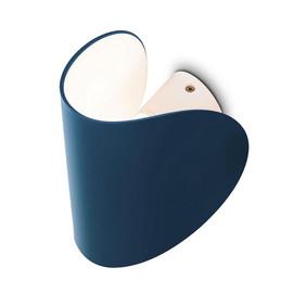 Io H16,5 matowy niebieski - Fontana Arte - lampa ścienna