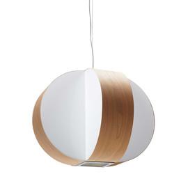 Carambola Ø40 drewno wiśniowe - Luzifer LZF - lampa wisząca
