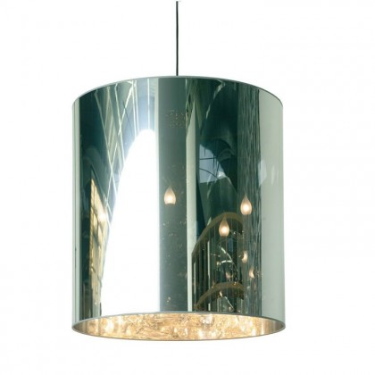 Light Shade Shade Ø70 lustro - Moooi - lampa wisząca - MOLAC-D70-A + MOLLS-D70-- - tanio - promocja - sklep