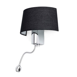 Hotel H50 czarny - Faro - lampa ścienna