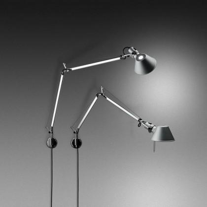Tolomeo Mini H57 aluminium - Artemide - lampa ścienna - A005600 + A025150 - tanio - promocja - sklep