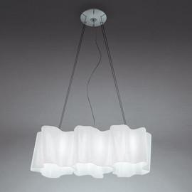 Logico L66 biały satynowy - Artemide - lampa wisząca