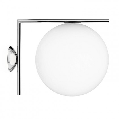 Ic W2 L38 chrom - Flos - lampa ścienna - F3179057 - tanio - promocja - sklep