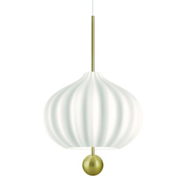 Lilli Ø32 mosiądz - Kundalini - lampa wisząca