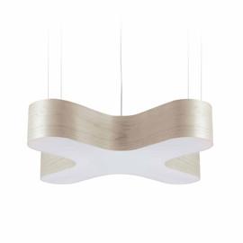 X Club Ø75 kość słoniowa - Luzifer LZF - lampa wisząca