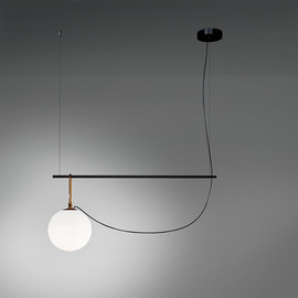 Nh S2 22 L90 mosiądz - Artemide - lampa wisząca