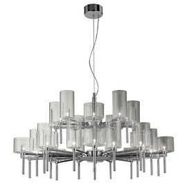 Spillray Ø118,8 szary - AXO Light - lampa sufitowa