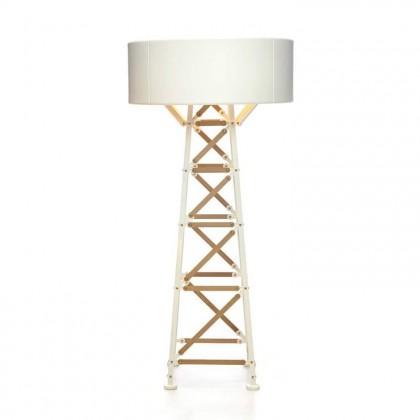 Construction H185 naturalne drewno, biały - Moooi - lampa podłogowa - MOLCOL-L-WW - tanio - promocja - sklep