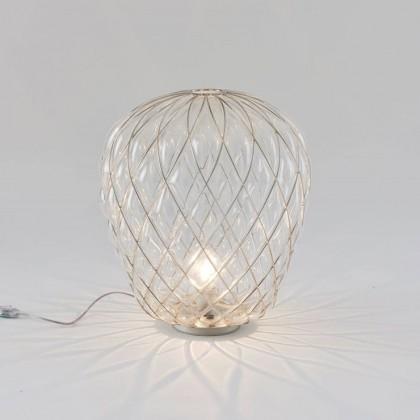Pinecone Ø50 chrom - Fontana Arte - lampa biurkowa - 4340TR - tanio - promocja - sklep