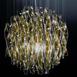 Aura Ø60 żółty - AXO Light - lampa sufitowa