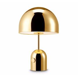 Bell Table H44 złoty - Tom Dixon - lampa biurkowa