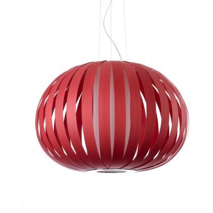 Poppy Ø63 czerwony - Luzifer LZF - lampa wisząca - POPY SP 26 - tanio - promocja - sklep