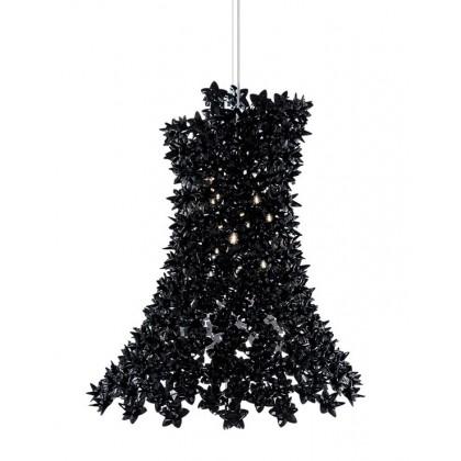 Bloom H70 czarny - Kartell - lampa wisząca - 925009 - tanio - promocja - sklep