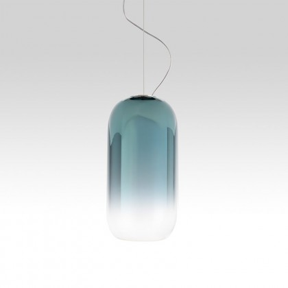 Gople Mini Ø14.5 niebieski - Artemide - lampa wisząca - 1406050A - tanio - promocja - sklep
