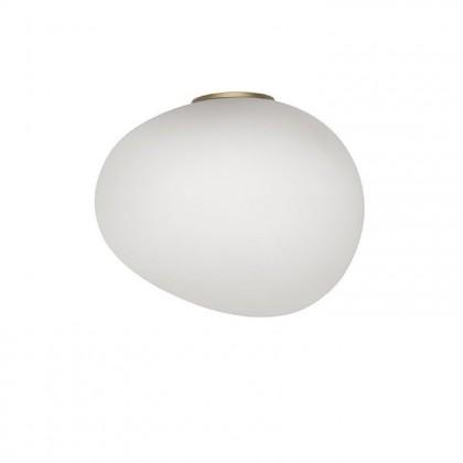Gregg Midi H21 biały, złoty - Foscarini - lampa ścienna - 1680053G-10 - tanio - promocja - sklep