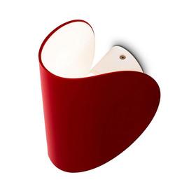 Io H16,5 czerwony - Fontana Arte - lampa ścienna