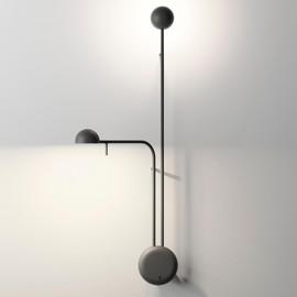 Pin H70 czarny - Vibia - lampa ścienna