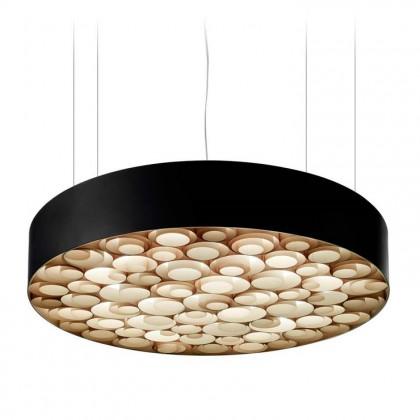 Spiro Ø96 czarny, drewno - Luzifer LZF - lampa wisząca - SPRO SG BK 22 - tanio - promocja - sklep