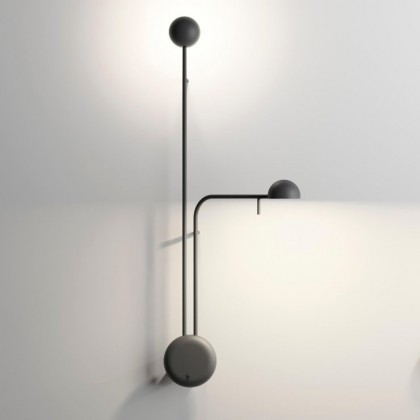 Pin H70 czarny - Vibia - lampa ścienna - 168604/10 - tanio - promocja - sklep