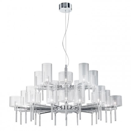 Spillray Ø118,8 przezroczysty - AXO Light - lampa sufitowa - SPSPIL30CSCR12V - tanio - promocja - sklep