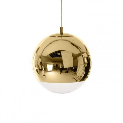 Mirror Ball Ø25 złoty - Tom Dixon - lampa wisząca - MBB25GEU - tanio - promocja - sklep