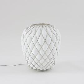 Pinecone Ø50 chrom - Fontana Arte - lampa biurkowa