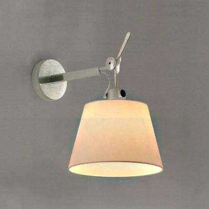 Tolomeo Ø32 polerowane aluminium - Artemide - lampa ścienna - 1186010A + 0780010A - tanio - promocja - sklep