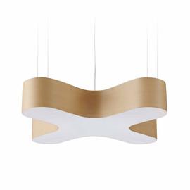 X Club Ø75 brązowy - Luzifer LZF - lampa wisząca