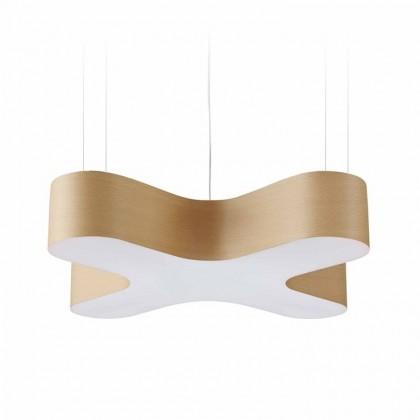 X Club Ø75 brązowy - Luzifer LZF - lampa wisząca - X SM LED DIM0-10V 22 - tanio - promocja - sklep