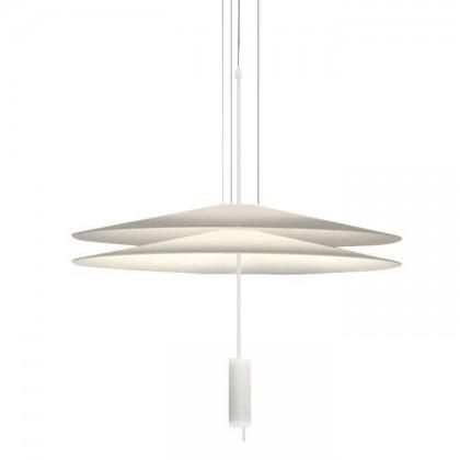 Flamingo Ø70 biały matowy - Vibia - lampa wisząca - 1510 93 /1B - tanio - promocja - sklep
