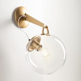 Miconos Ø25 mosiądz - Artemide - lampa ścienna