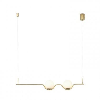 Le Vita L103 złoty - Faro - lampa wisząca - 29691 - tanio - promocja - sklep
