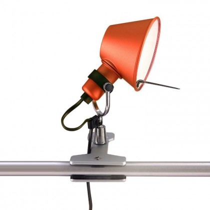 Tolomeo Micro H20 czerwony - Artemide - lampa biurkowa - A010810 - tanio - promocja - sklep