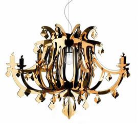 Ginetta Ø78 złoty - Slamp - lampa sufitowa