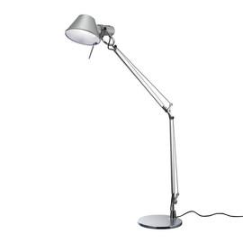 Tolomeo Mini H54 aluminium - Artemide - lampa biurkowa