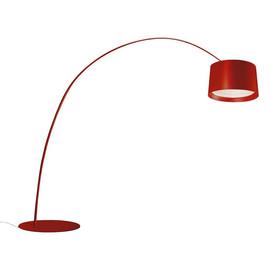 Twice As Twiggy H320 czerwony lakierowany - Foscarini - lampa podłogowa