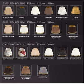 Coco ZWM-5 - Kutek - lampa wisząca