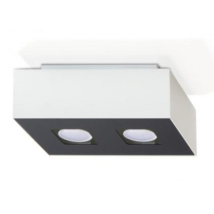 Plafon MONO 2 Biały - Sollux - SL.0067 - tanio - promocja - sklep