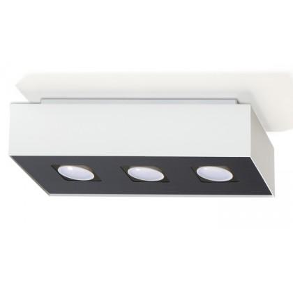 Plafon MONO 3 Biały - Sollux - SL.0068 - tanio - promocja - sklep