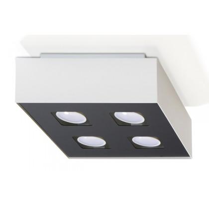 Plafon MONO 4 Biały - Sollux - SL.0069 - tanio - promocja - sklep