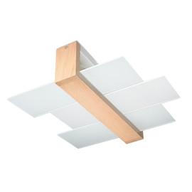 Plafon FENIKS 2 Naturalne Drewno - Sollux