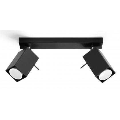 Plafon MERIDA 2 Czarny - Sollux - SL.0100 - tanio - promocja - sklep