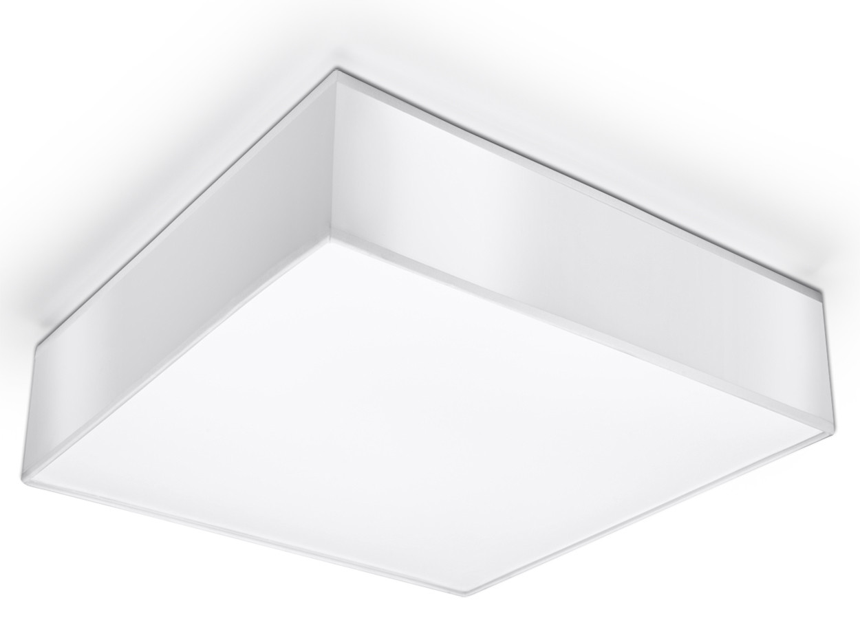 Plafon HORUS 35 Biały - Sollux