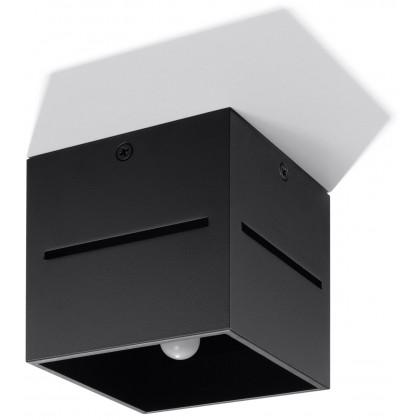 Plafon LOBO Czarny - Sollux - SL.0207 - tanio - promocja - sklep