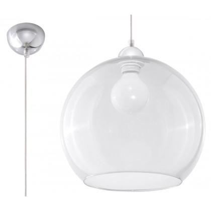 Lampa Wisząca BALL Transparentny - Sollux - SL.0248 - tanio - promocja - sklep
