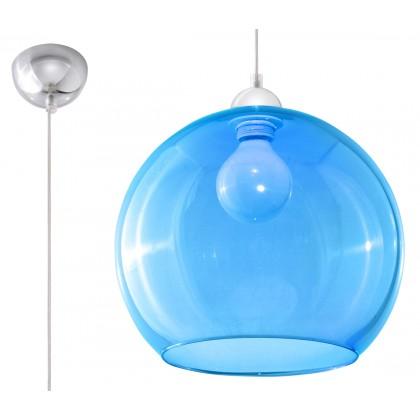 Lampa Wisząca BALL Błękitna - Sollux - SL.0251 - tanio - promocja - sklep