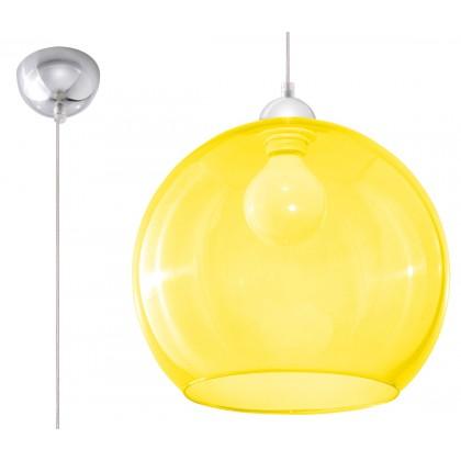 Lampa Wisząca BALL Żółta - Sollux - SL.0252 - tanio - promocja - sklep