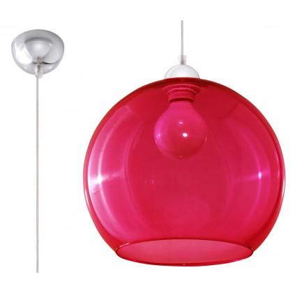 Lampa Wisząca BALL Czerwona - Sollux - SL.0253 - tanio - promocja - sklep