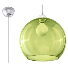 Lampa Wisząca BALL Zielona - Sollux